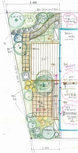 """こんな進め方が、私の""""お庭を設計する手法""""なんだと思います。_c0124100_15142535.jpg"""