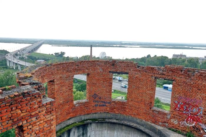 アムール川に架かるハバロフスク橋_d0116009_02433257.jpg