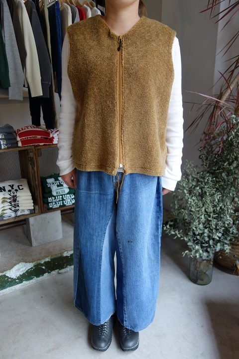 MADE by sunny side up : remake denim baggy pants_a0234452_18284584.jpg