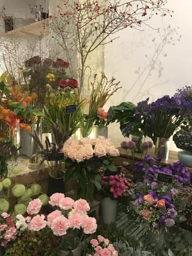 パリのお花屋さん・marianne のバースデー(パリ便り その2)_c0176078_15060367.jpg