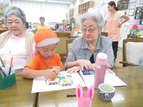 【南品川園】高齢者交流会_a0267292_12333111.jpg