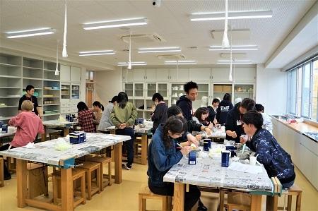 松本大学でのせっけん教室、終了しました!_e0254750_15123407.jpg