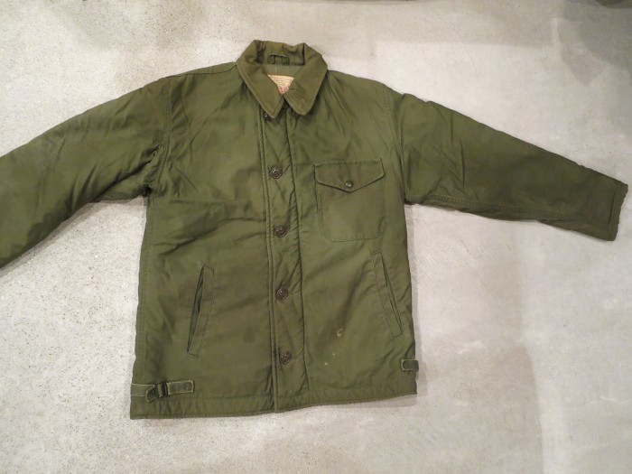 VINTAGE US.N. A-2 DECK JACKET 60's 70's - DELIGHT CLOTHING&SUPPLY