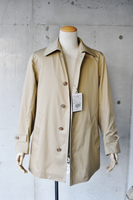 これからの時期に(^^♪  Trafalgar Shield (MADE in Japan) ・・・ Soutien Collar COAT!★!_d0152280_06082805.jpg