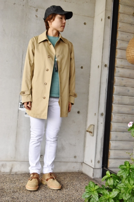 これからの時期に(^^♪  Trafalgar Shield (MADE in Japan) ・・・ Soutien Collar COAT!★!_d0152280_06130688.jpg