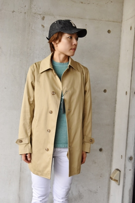 これからの時期に(^^♪  Trafalgar Shield (MADE in Japan) ・・・ Soutien Collar COAT!★!_d0152280_06132897.jpg