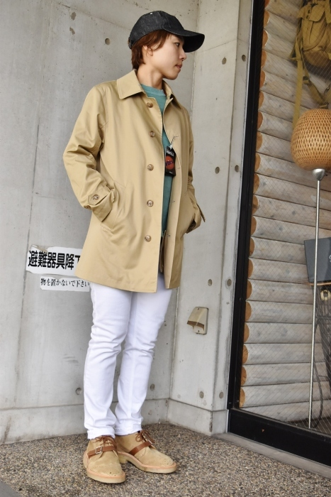 これからの時期に(^^♪  Trafalgar Shield (MADE in Japan) ・・・ Soutien Collar COAT!★!_d0152280_06135496.jpg