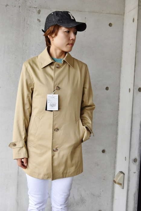 これからの時期に(^^♪  Trafalgar Shield (MADE in Japan) ・・・ Soutien Collar COAT!★!_d0152280_06141714.jpg