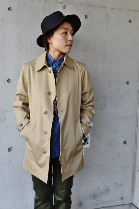 これからの時期に(^^♪  Trafalgar Shield (MADE in Japan) ・・・ Soutien Collar COAT!★!_d0152280_06162789.jpg