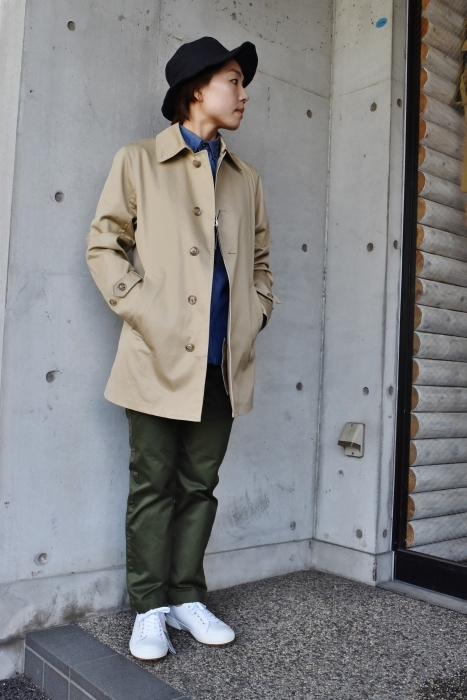これからの時期に(^^♪  Trafalgar Shield (MADE in Japan) ・・・ Soutien Collar COAT!★!_d0152280_06165158.jpg