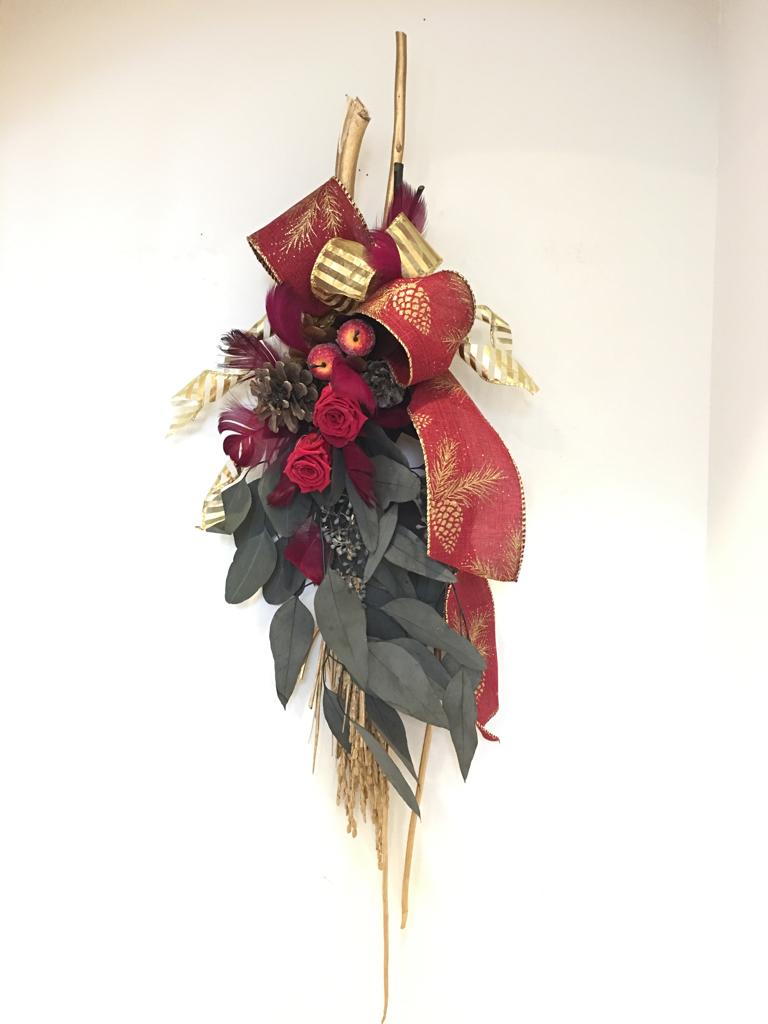 クリスマスフラワー教室_c0146921_13064173.jpg