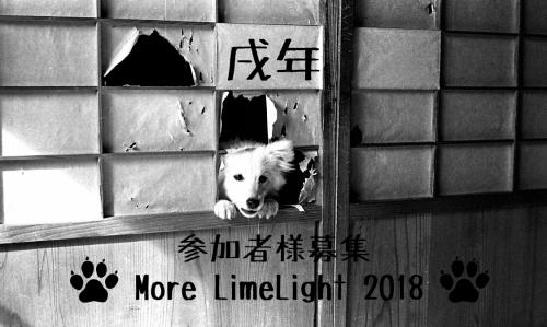 More LimeLight2018参加者様募集です。_e0158242_12194506.jpg