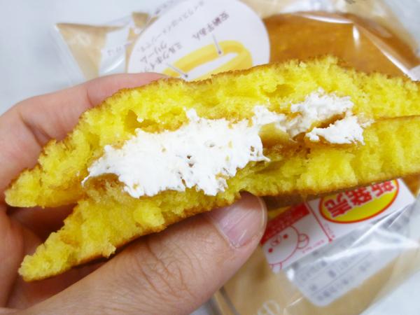 もちっとパンケーキ(安納芋あん&ミルクホイップ)@ローソン_c0152767_19025742.jpg