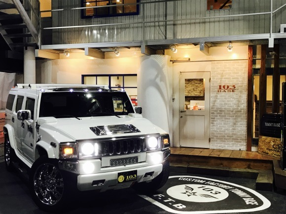 10月18日(木)TOMMY  BASE ともみブログ☆ランクル ハマー 10インチナビ!_b0127002_11091400.jpg