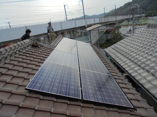 T様邸(佐伯区利松)太陽光発電システム工事_d0125228_07434434.jpg