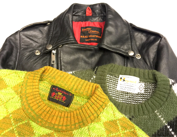「 RIDERSとINNER 」 - GIANT BABY    used&vintage clothing & culture & happy