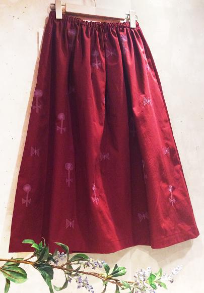 【〜10/31】風子 刺繍のワンピース&スカート受注会 開催中!_b0184796_16543639.jpg