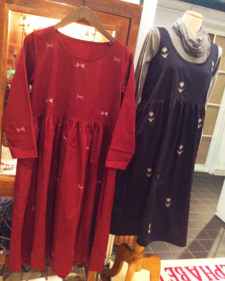 【〜10/31】風子 刺繍のワンピース&スカート受注会 開催中!_b0184796_17324162.jpg