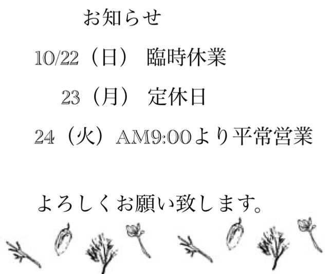 臨時休業のお知らせ_c0330308_19261787.jpg