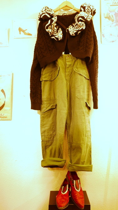 Coodinate ARMY pants_f0144612_19212424.jpg