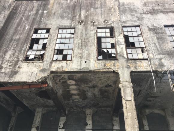 夕張 旧北炭清水沢火力発電所の見学。_f0096216_09373125.jpg