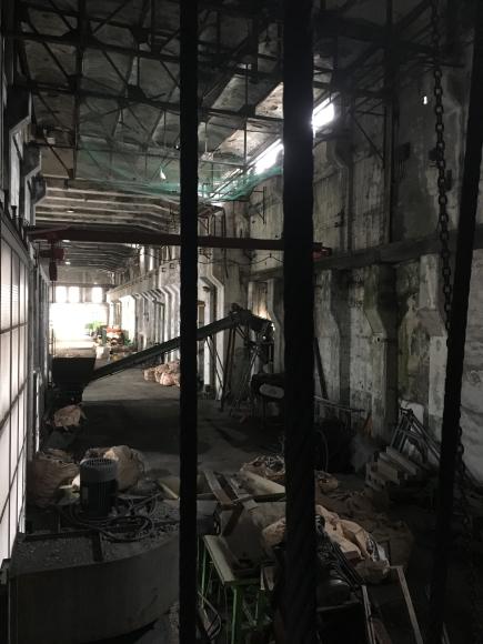 夕張 旧北炭清水沢火力発電所の見学。_f0096216_09381249.jpg