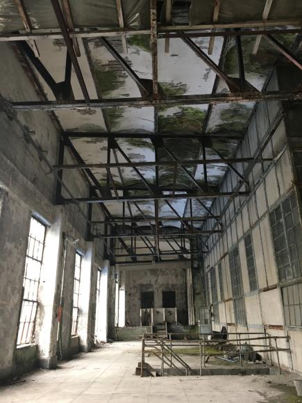 夕張 旧北炭清水沢火力発電所の見学。_f0096216_09394040.jpg
