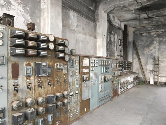 夕張 旧北炭清水沢火力発電所の見学。_f0096216_09394661.jpg