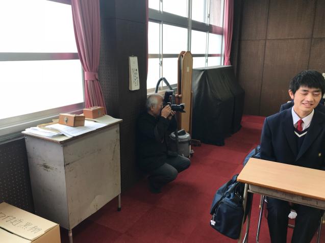 卒業アルバムの写真撮影! - 最近・・・のこと