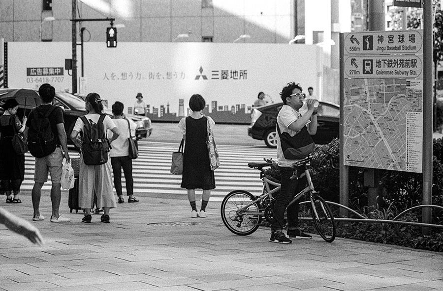 【21st Century Snapshotman 】「人」への回帰 千駄ヶ谷 ↔ 原宿 2017.7.14_c0035245_16235361.jpg