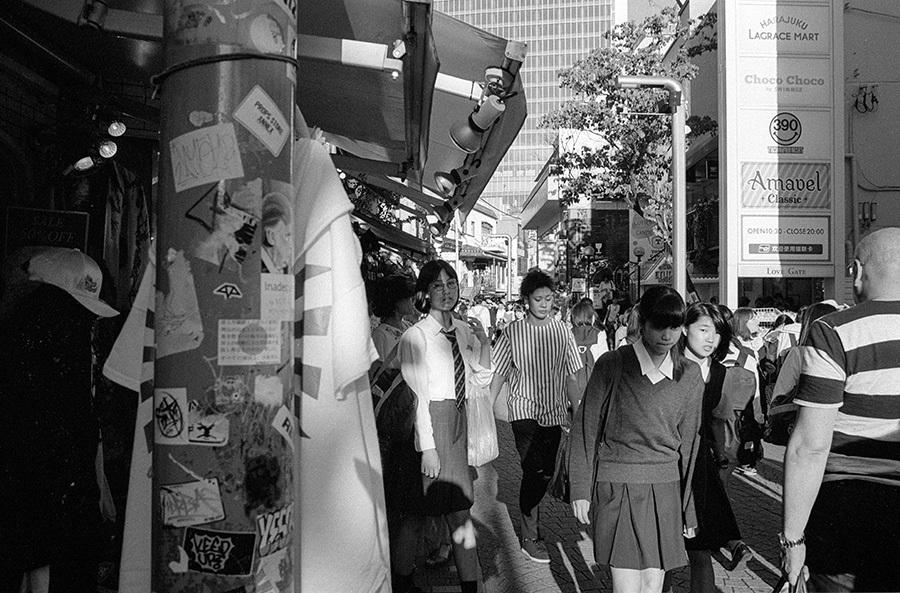 【21st Century Snapshotman 】「人」への回帰 千駄ヶ谷 ↔ 原宿 2017.7.14_c0035245_16545830.jpg