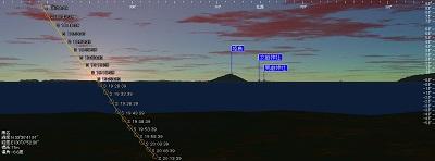 鎮懐石八幡宮3 夏至の日没が見える宮_c0222861_19502873.jpg
