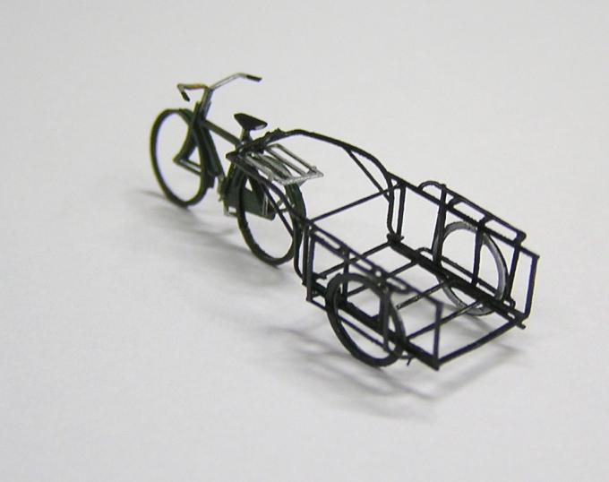 リヤカーと自転車のペーパーキット その2_e0137686_12122856.jpg