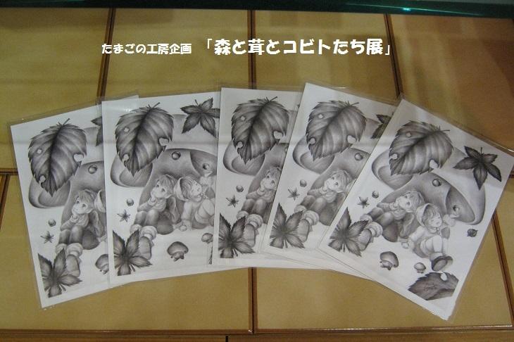 たまごの工房企画「 森と茸とコビトたち展 」 その5_e0134502_16044814.jpg