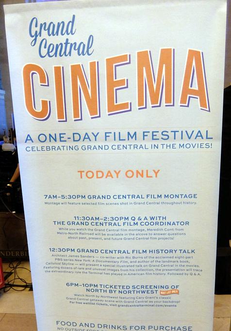 NYの超有名な映画ロケ地でその映画を観るイベント、第1回Grand Central Cinema開催_b0007805_0331376.jpg