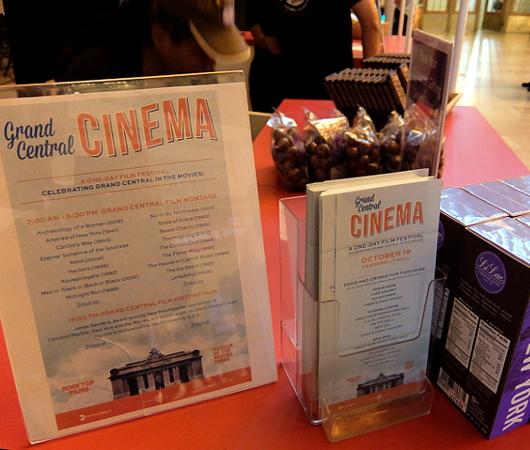 NYの超有名な映画ロケ地でその映画を観るイベント、第1回Grand Central Cinema開催_b0007805_0342583.jpg