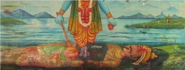 ガヤのヴィシュヌパッド寺院でヴィシュヌ神の足跡に触れてきた_d0360509_0532948.jpg