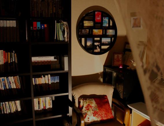 隠し部屋的 書庫BARごっこ♪_a0329820_16091691.jpg