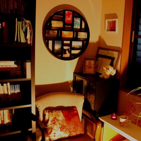 隠し部屋的 書庫BARごっこ♪_a0329820_16355185.jpg