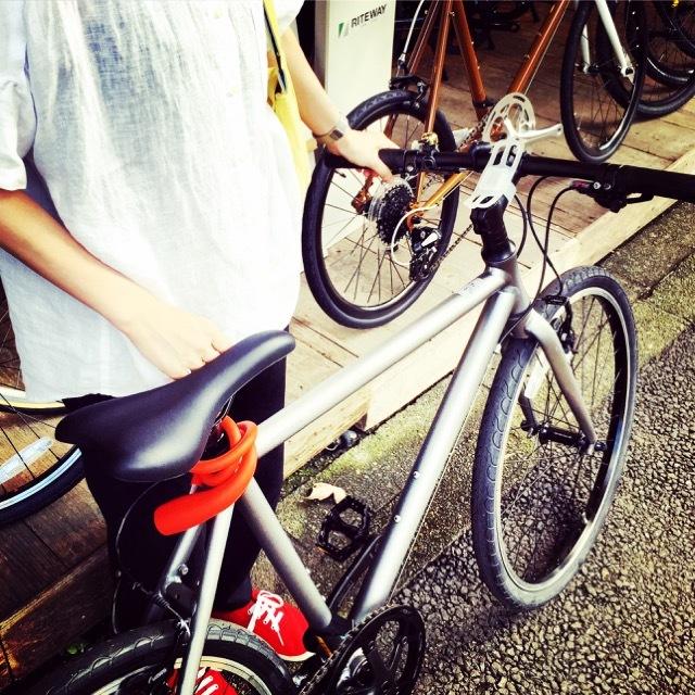 ライトウェイ POP UP試乗会「RITEWAY 2018 POP UP」新作 シェファード パスチャー スタイルス クロスバイク 自転車ガール 自転車女子 リピト_b0212032_18361215.jpg