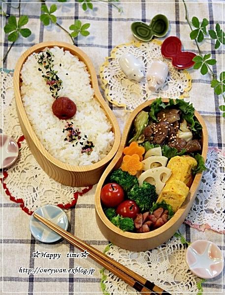 豚肉とキャベツの味噌炒め弁当とランチは台湾ラーメンと作りおき♪_f0348032_18144410.jpg