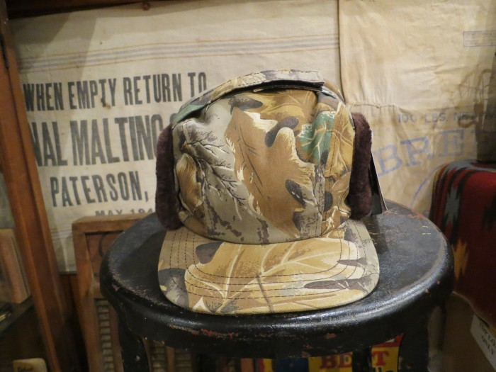 MADE IN U.S.A. HUNTER CAMO CAP HAT_e0187362_11320993.jpg