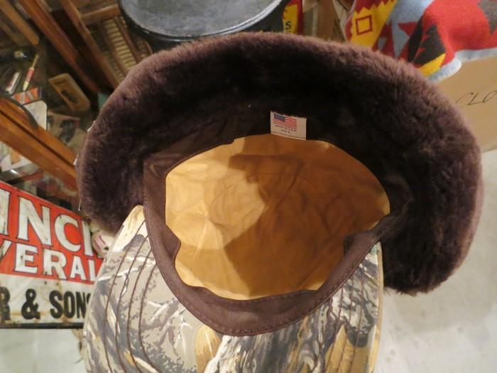 MADE IN U.S.A. HUNTER CAMO CAP HAT_e0187362_11333862.jpg