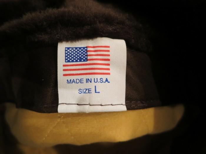 MADE IN U.S.A. HUNTER CAMO CAP HAT_e0187362_11335379.jpg
