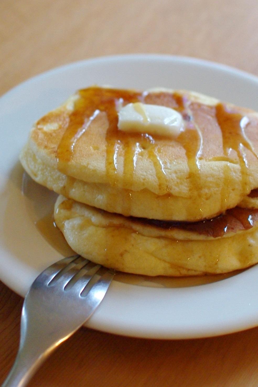 ■ 卵多めで、メレンゲパンケーキ(くちどけ重視)_c0110869_10352350.jpg
