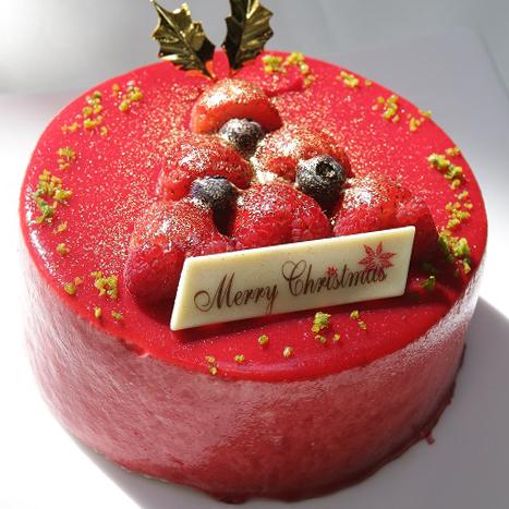 カフェのクリスマスケーキ_d0079577_18503091.jpg