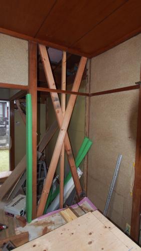 耐震改修工事 始まりました_e0064493_18234700.jpg