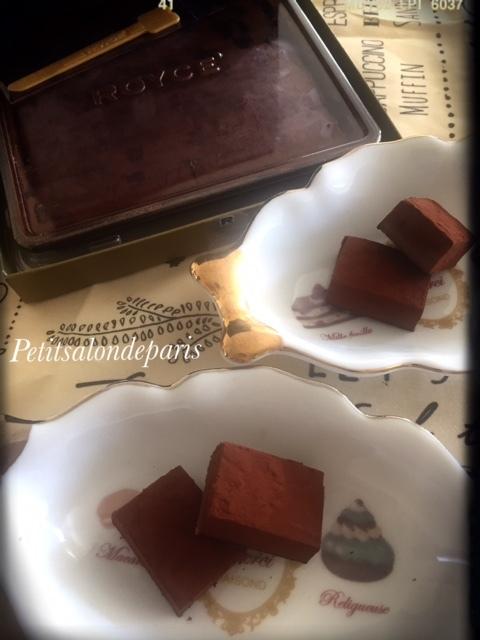 とろける 生チョコレート_a0230197_07450168.jpg