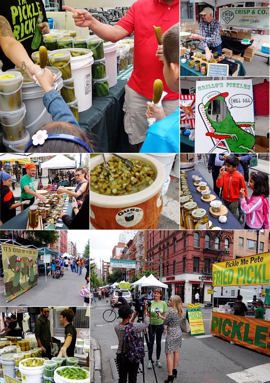 異文化たっぷりNYの「ピクルス・デー」Pickle Day 2017_b0007805_9201924.jpg