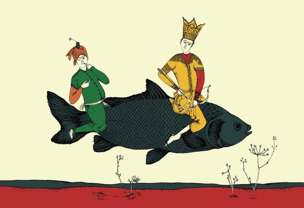Nooshin Safakhoo『スーフィーと獣と王たちの物語』絵本原画展_e0091706_2132505.jpg